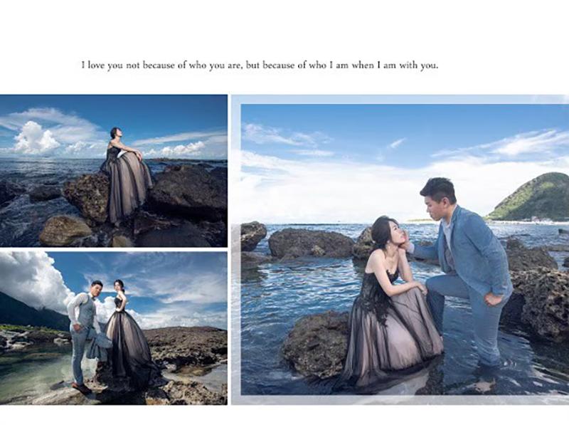 花蓮太平洋蔚藍海岸拍攝婚紗