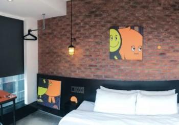 【Check inn】超吸睛插畫設計主題房進駐雀客旅館