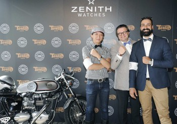 ZENITH腕錶在優雅與粗獷之間達到完美和諧