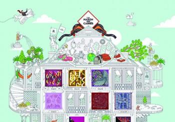 第一個為女性設立的虛擬世界 愛馬仕方巾之家 La Maison des Carrés