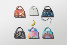 【Louis Vuitton】獨特視角帶你遨遊於Capucines手袋的藝術世界中