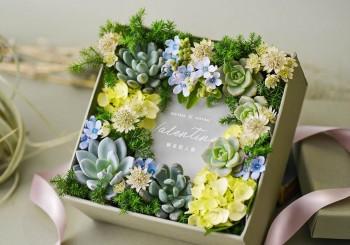 送一份植物禮 迎接最有「植感」的情人節