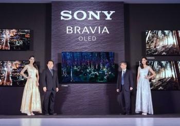 2019 Sony BRAVIA 電視系列極致再現  旗艦級MASTER系列OLED電視A9G開創睛湛視野