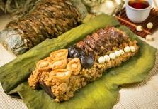 【大地酒店】1.1公斤海陸雙珍粽 稻香大地牛與頂級智利鮑魚的麻辣川粽