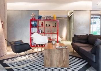 在風格混搭的畫廊睡一晚,曼谷 Designer Loft Bangkok Silom