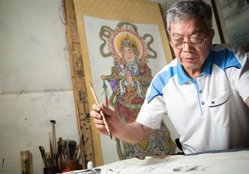 【出神入化的繪畫人生】國寶級廟宇彩繪師─蔡龍進