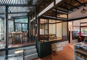 警察宿舍變餐廳|櫟舍文學餐廳╳台灣文學新據點