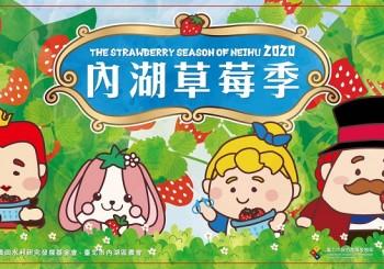 【2020內湖草莓季】2月15日正式開跑  莓好時光 x 生活新樂趣