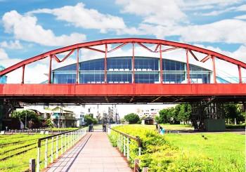 陸橋變餐廳∣紅橋餐廳 ╳全台唯一陸橋景觀餐廳