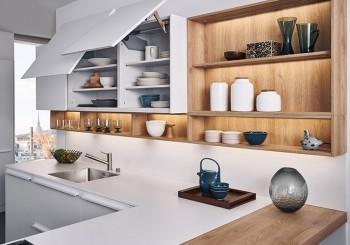 【弘第】調和層次間的動靜 純淨北歐感廚房