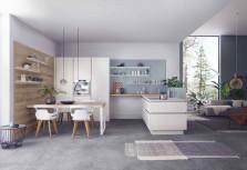 【德國廚具LEICHT】推出新風格自然簡約系廚房