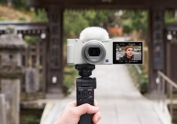Sony 數位相機 ZV-1輕柔美型晨曦白 耀眼登場