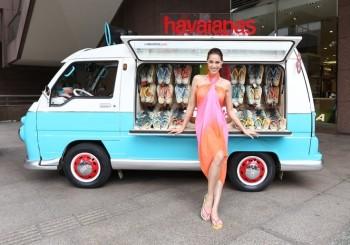 巴西第一人字拖品牌havaianas  大中華區首台哈灘車巡迴開跑