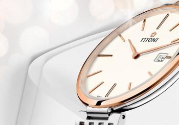 TITONI瑞士梅花錶纖薄系列機械錶 輕盈舒適的佩戴新體驗