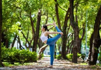 NAMASTE-瑜珈人圖騰  表達敬意的最真誠形式