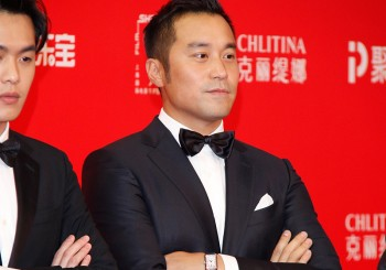 張孝全穿著Ermenegildo Zegna出席上海電影節開幕典禮