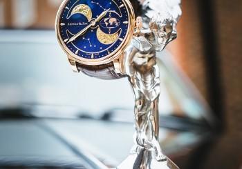 【亞諾錶 】腕上工藝的賞月魅力 HM 南北半球萬年月相腕錶
