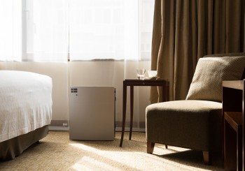 每一口呼吸都清新~ 台北寒舍喜來登大飯店聯手瑞典智能空氣清淨機Blueair提供五星級 好.空.氣 ~