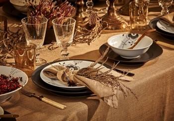 第53屆皇家哥本哈根「名人聖誕餐桌」    在炎熱的非洲大草原迎接聖誕老公公