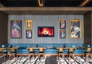【空間設計】The Duck Hook  以經典英式酒吧為靈感的餐飲場所
