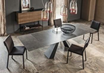 陶瓷披上大理石外衣 幻化薄型機能餐桌
