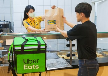 IKEA攜手Uber Eats  瑞典美食外送上線囉!