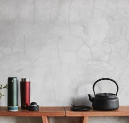 【JIA Inc.】秋日養身喝好水 鐵器鑄鐵壺 & 竹炭陶醒水芯隨身瓶