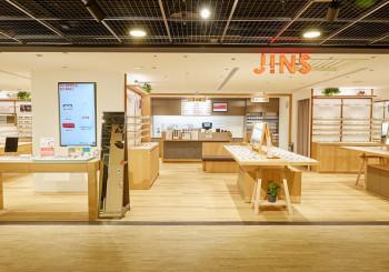 JINS深入社區商場展店  成為顧客的好鄰居