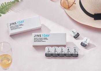 全方位自由視野!JINS日拋透明隱形眼鏡 清新上市