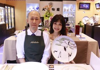 【旺代】Noritake彩繪大師 山田智嗣「慶典金魚」