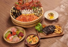 【礁溪寒沐酒店】MU TABLE自助餐廳 一張吃遍山珍海味
