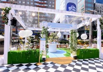 【Wedgwood】全球首座城市茶屋花園