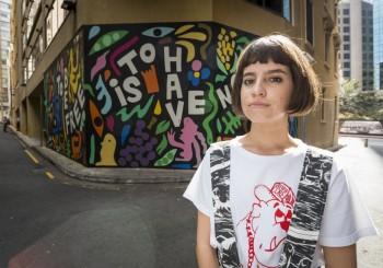 委內瑞拉藝術家,雪梨街邊宣傳母國獨特文化