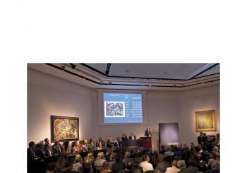 佳士得倫敦(印象派& 現代藝術)晚間拍賣    以成交價 36,005,000 英鎊再創世界拍賣新紀錄