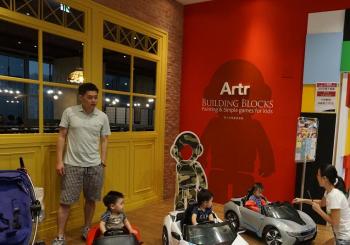 iFG遠雄廣場週年慶: 積木塗鴉親子餐廳不容錯過