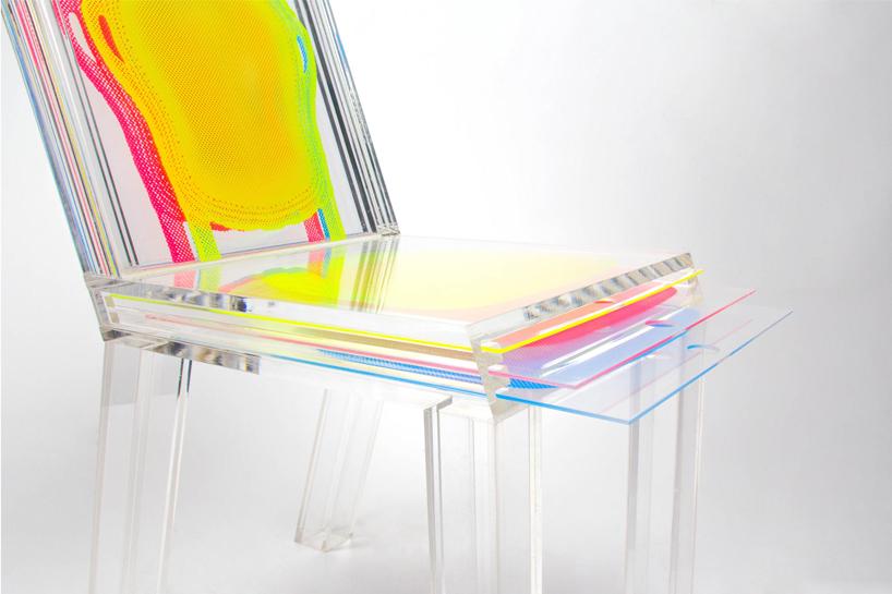 南韓設計師Sohyun Yun-隨居住空間隨之變換的層椅
