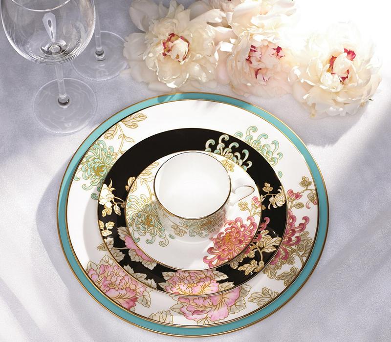 精緻技術 完美餐瓷蘊含浪漫奢華靈魂