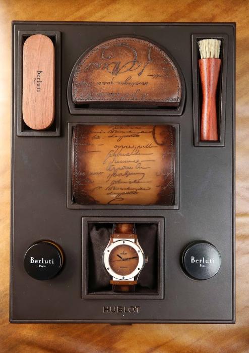 製錶專家與皮革大師的跨界傑作