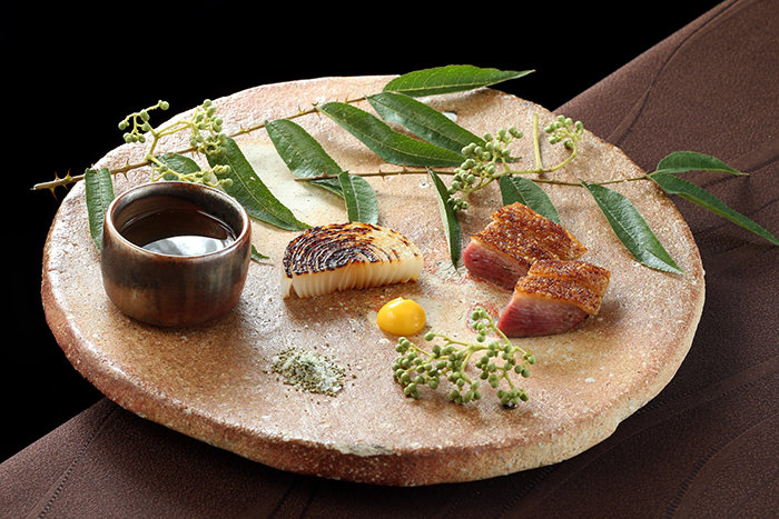 以極致懷石料理技法詮釋在地初秋的豐饒