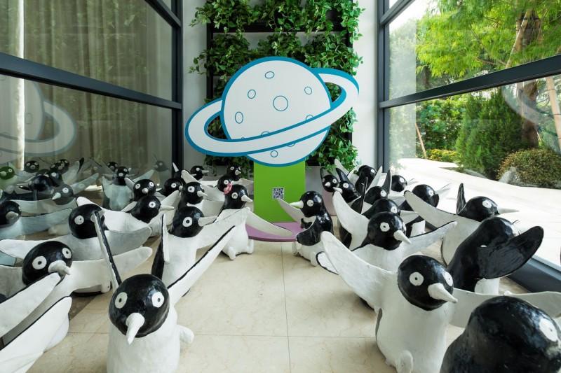 【晶宴會館】『520企鵝閃愛行動』拍照打卡送好禮