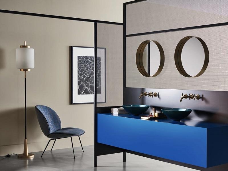 「經典藍」新趨勢 華麗回歸衛浴空間