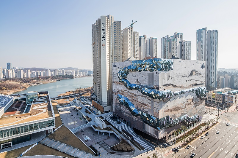 全新觀光景點 韓國Galleria光教店