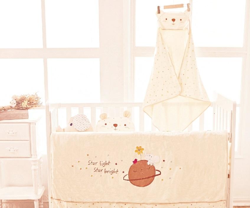 安全‧天然‧有機棉  給寶寶最舒眠的甜夢星空