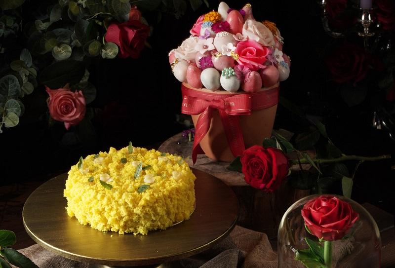 圖說-君品酒店_母親節蛋糕