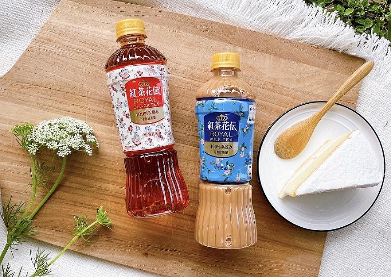 日本暢銷茶飲品牌「紅茶花伝」× 英倫印花品牌「Cath Kidston」推出聯名限定包裝