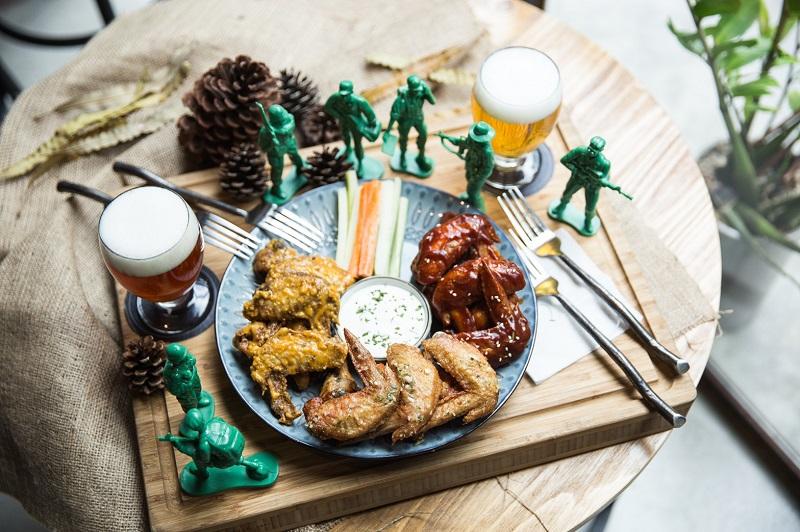 全台北最好吃的雞翅首度開放外送!【GumGum Beer & Wings 雞翅啤酒吧】