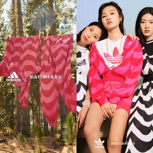 adidas首度攜手marimekko推出聯名系列  搭出永續新風格!
