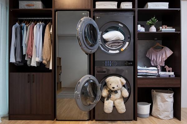 洗乾護家電新革命 LG WashTower™ AI智控洗乾衣機